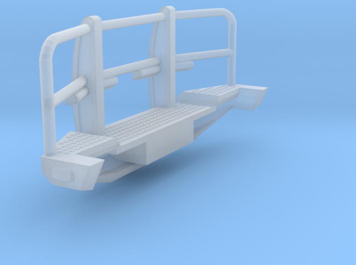 1/64th Heavy Off road truck Bumper 8' wide 3d printed