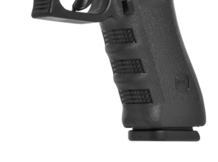 Glock GEN3 magwell (grip with flat front) 3d printed Magwell fits on models with flat front grip