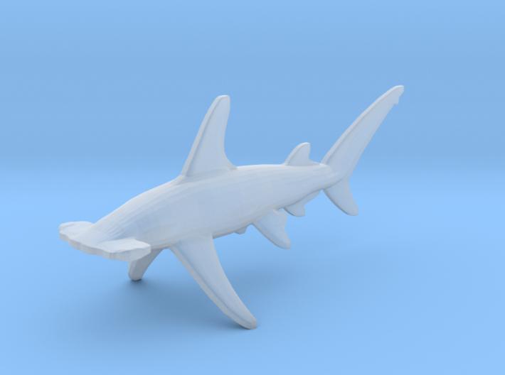 Hammerhead shark 3d printed