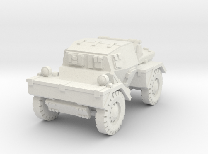 Daimler Dingo mk1 (closed) 1/100 3d printed
