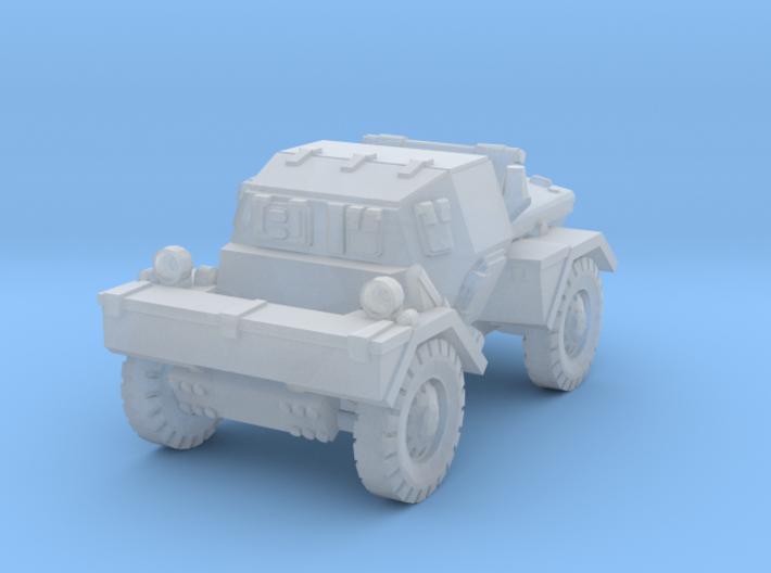 Daimler Dingo mk1 (closed) 1/200 3d printed