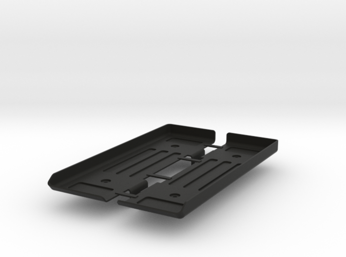 AD10002 floor & Battery mount (SCX10) 3d printed Parts as they come from Shapeways.