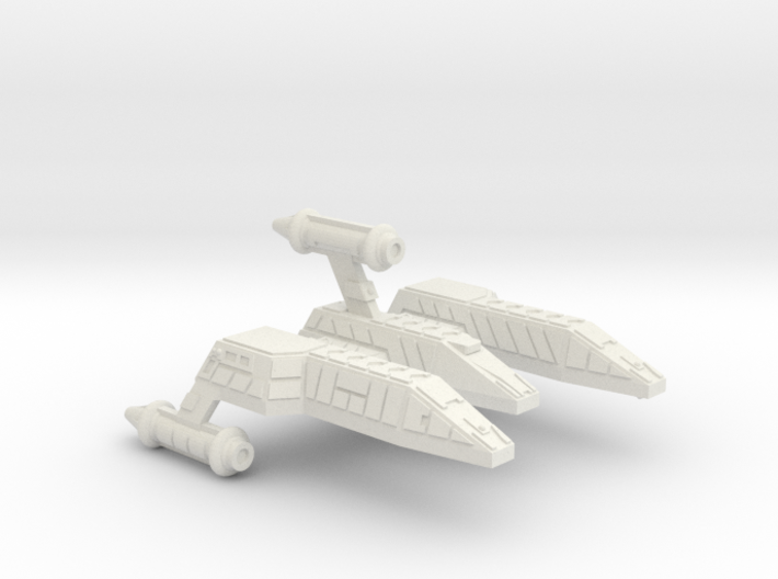 3125 Scale Lyran Jaguar-E Escort War Cruiser CVN 3d printed