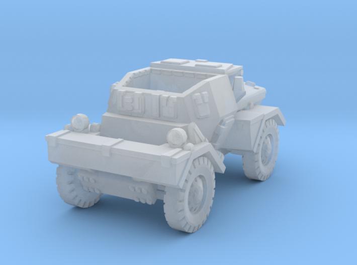 Daimler Dingo mk1 (open) 1/144 3d printed