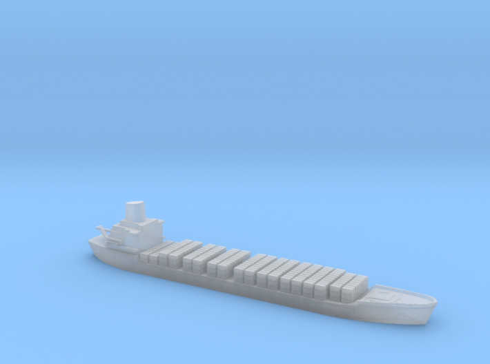 1/1800 Scale Jervis Bay Bulk Carrier Ship 3d printed