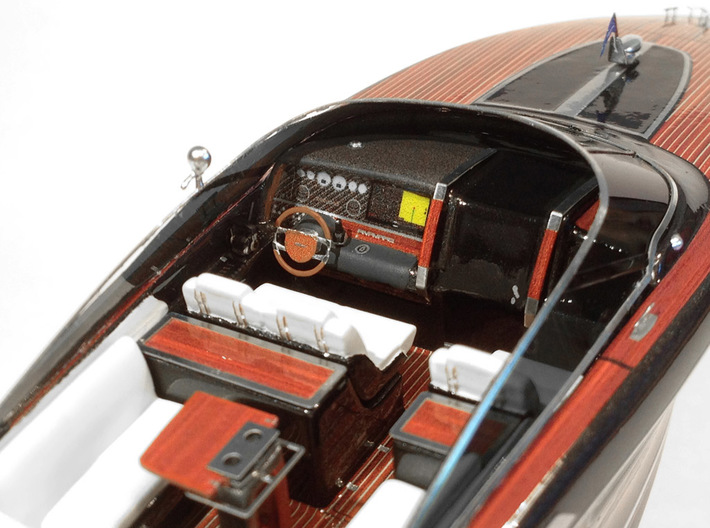 "1/87 RIVA ""Rivamare"" Luxury Yacht - PART 2 3d printed"