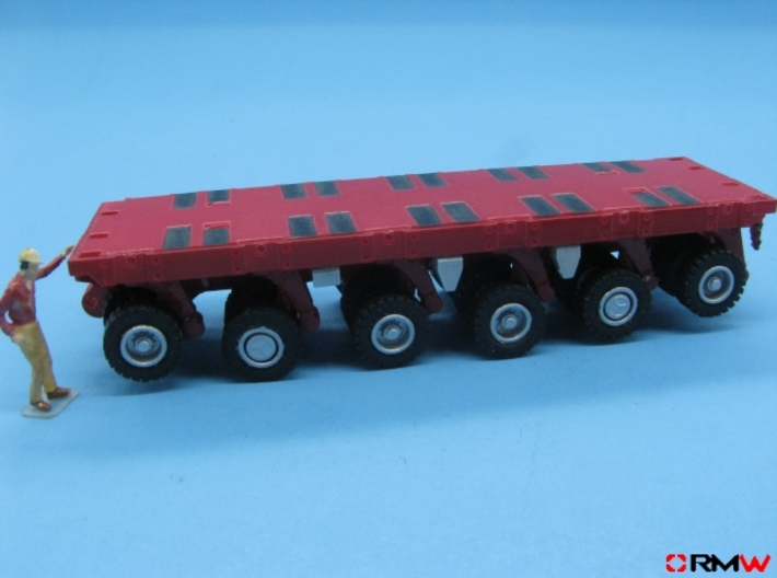 HO/1:87 spmt 6 axles (without ppu) 3d printed painted & assembled