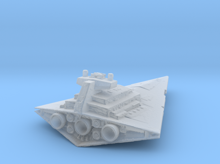 Imperial Star Destroyer Chimaera,Thrawn`s flagship 3d printed