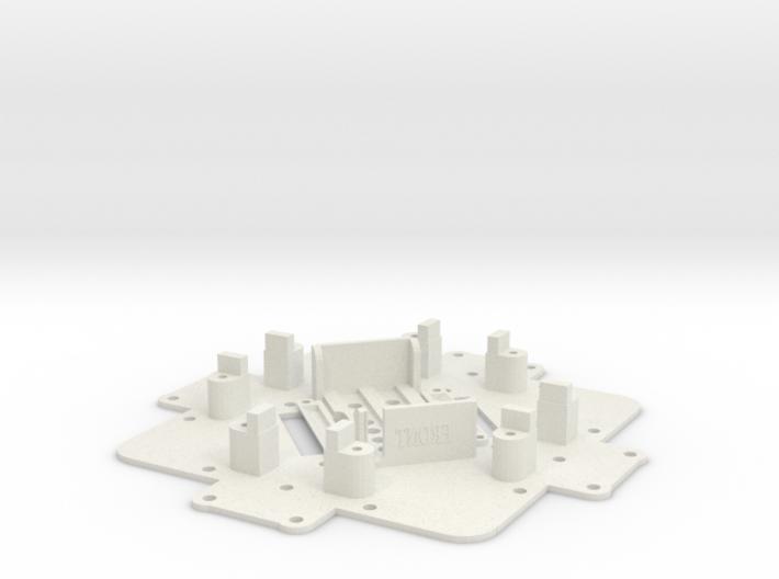 Lower Deck-X4 3d printed