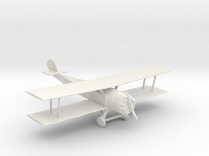 S Scale Biplane 3d printed This is a render not a picture