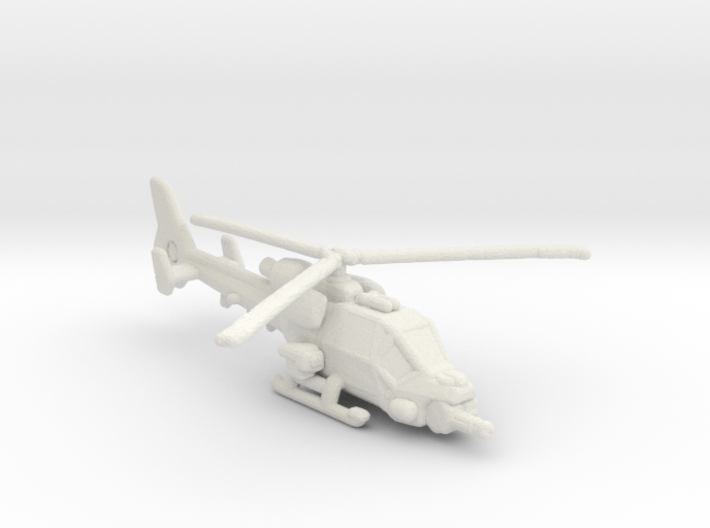 Blue Thunder 285 scale 3d printed