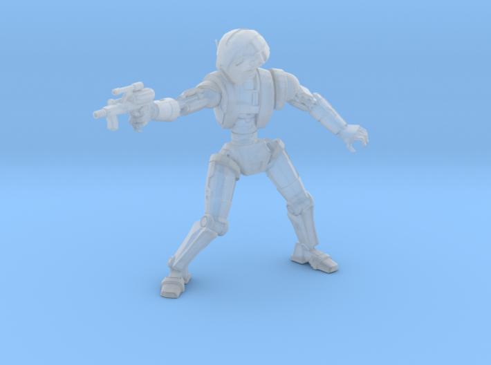 Meatbagger Pistol 3d printed