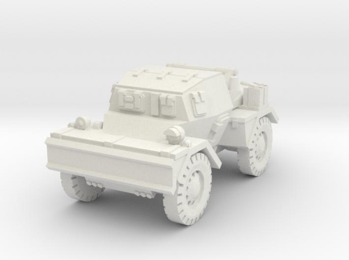 Daimler Dingo mk2 (closed) 1/76 3d printed