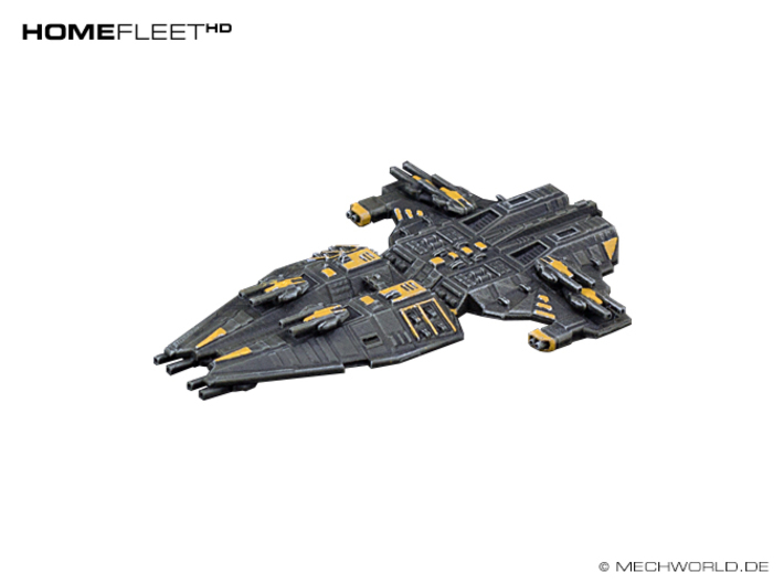 HOMEFLEET Battlecruiser 3d printed Finished painted model