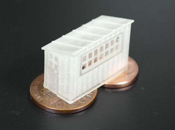 Scale House N scale (1/160) 3d printed