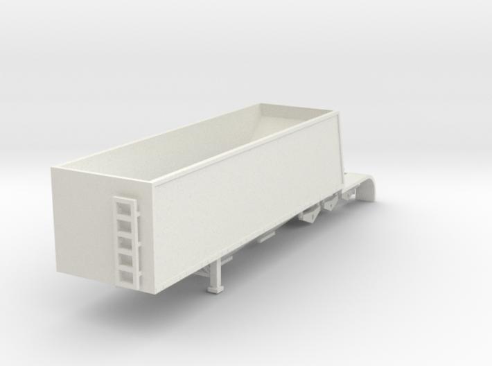 000657A trailer Grain Trailer HO 3d printed