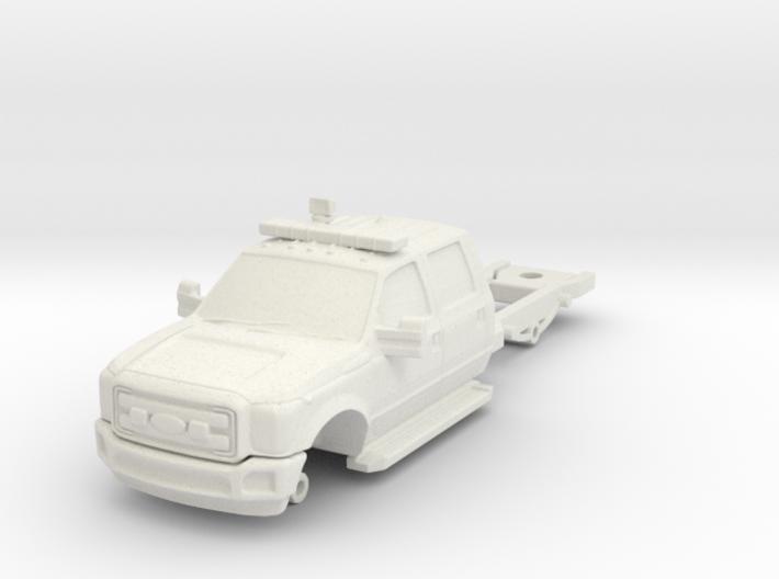 1/87 F550 4 Door Medic Chassis 3d printed