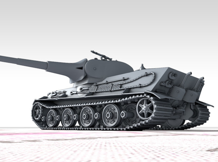 1/160 (N) German Pz.Kpfw. Löwe VK70.01 (K) Tank 3d printed 3d render showing product detail
