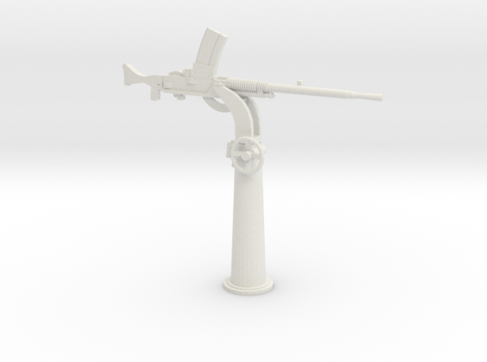 1/35 IJN Type 93 13mm Single Mount AA Gun 3d printed