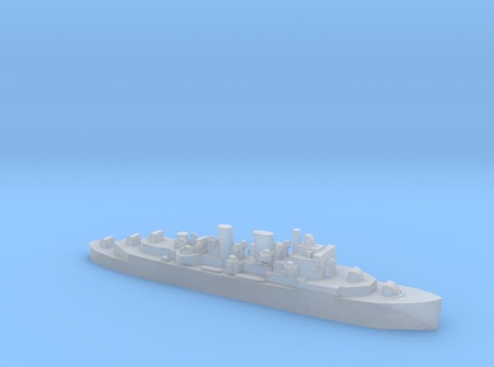 HMCS Prince Robert 1:1800 WW2 AA cruiser 3d printed