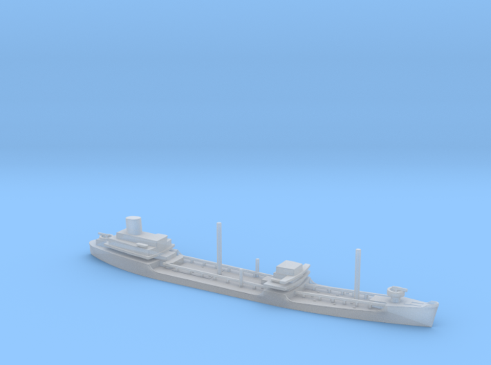 1/1800 Scale Suamico Class T-2 Oiler 3d printed