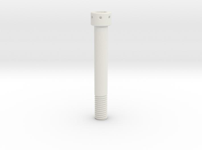 1:1 Apollo RCS Oxidizer Solenoid Attach Bolt 3d printed