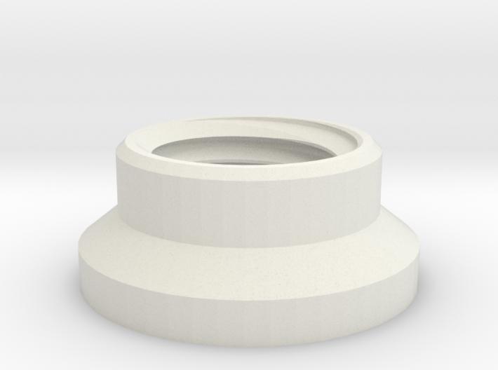 1:1 Apollo RCS Attach Nut 3d printed