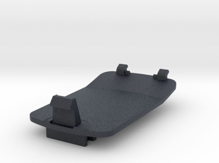 Wahoo ROAM Bottom Cover With Integrated Di2 3d printed