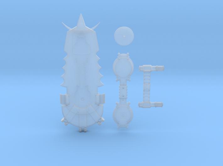 1/8 Scale Pitbull Hoverboard Mini Replica 3d printed