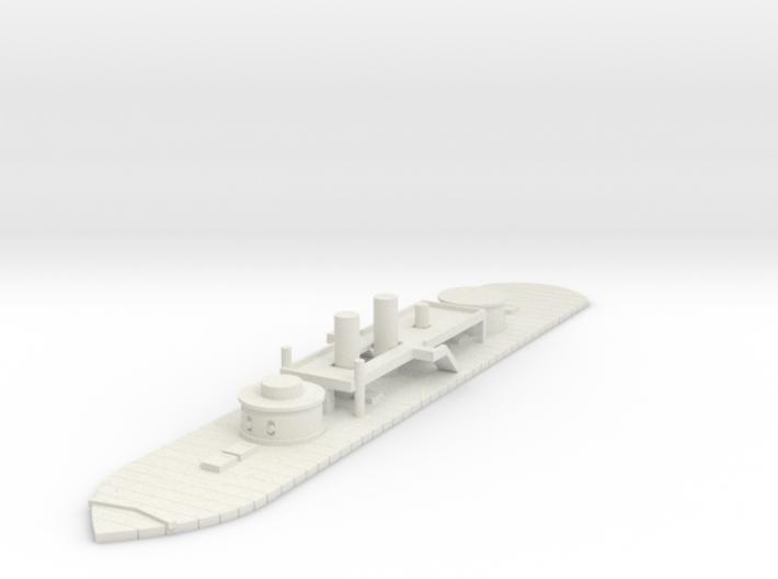 1/600 Union Kalamazoo Class Monitor 3d printed