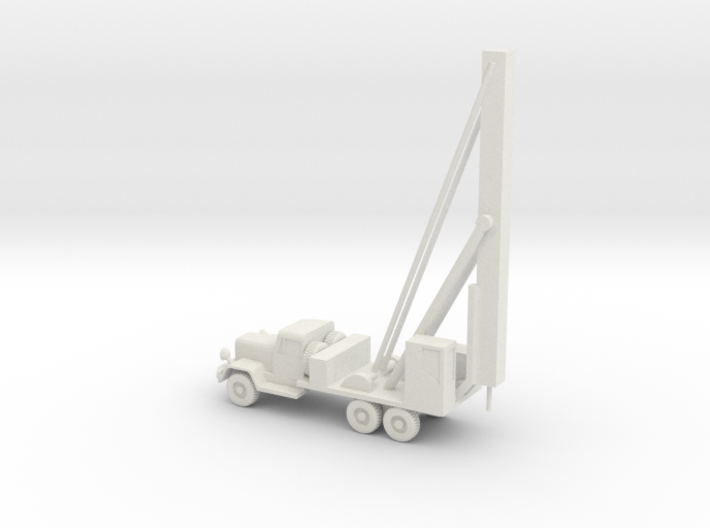 1/87 Scale Water Well Digger Truck 3d printed
