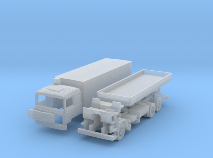 Volvo F10 6x2 Pritsche Plane (N 1:160) 3d printed