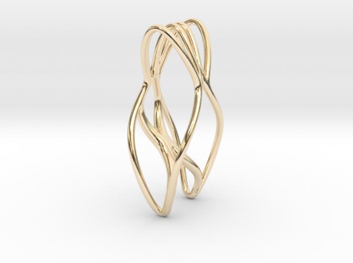 leontine pendant 3d printed