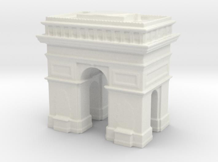 Arc de Triomphe 1/700 3d printed