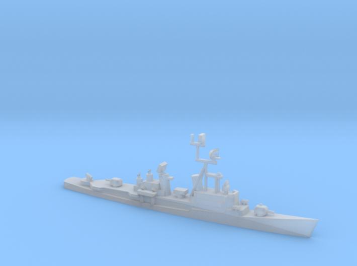 1/1800 Scale German Destroyer Class Lotjens D185 3d printed