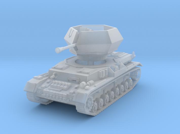 Flakpanzer IV J Ostwind 1/285 3d printed