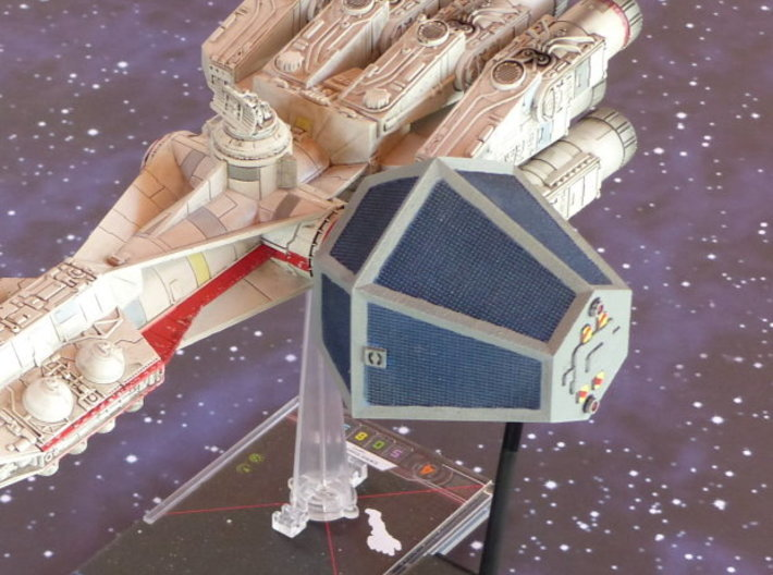 X-Wing Class E Container 1/270 3d printed