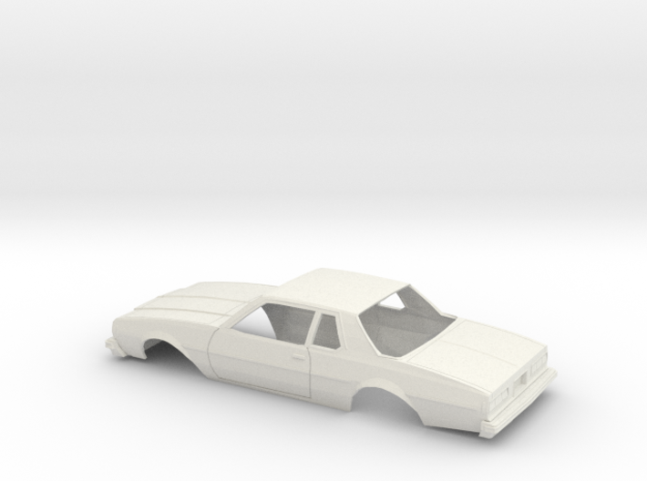 1/25 1977-78 Chevrolet Caprice Coupe Shell 3d printed