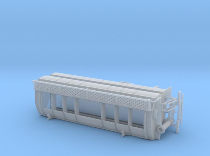 1/87th Walinga type Bulk Feed Truck Body 3d printed