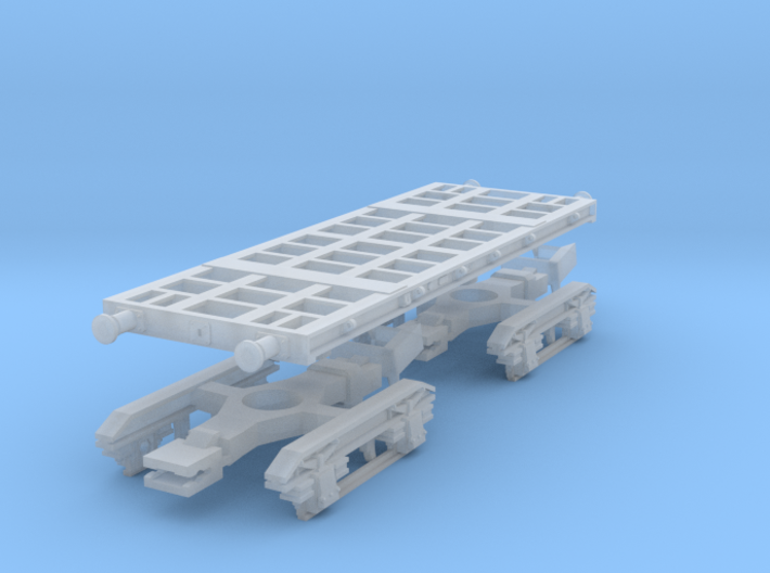 40 t Armour Plate truck 3d printed