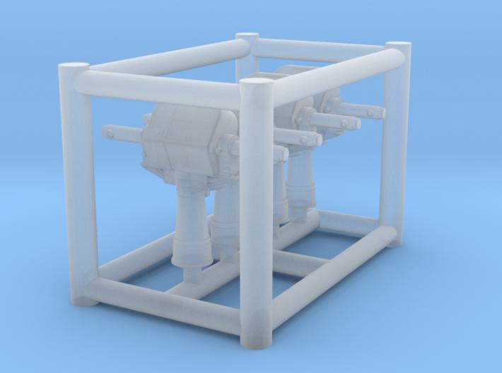 1/200 2m range finder 3d printed