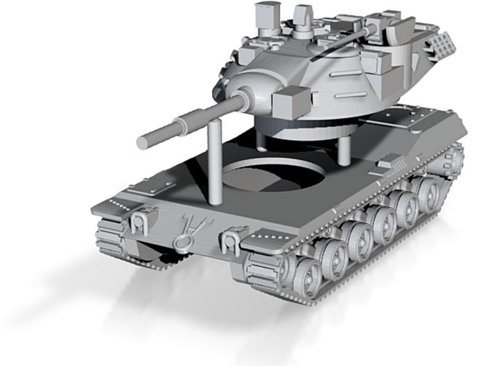 MBT-70 (KPz-70) Main Battle Tank Scale: 1:285 3d printed