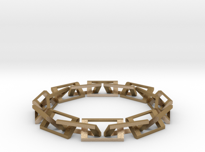 [1DAY_1CAD] CHAIN RING 3d printed