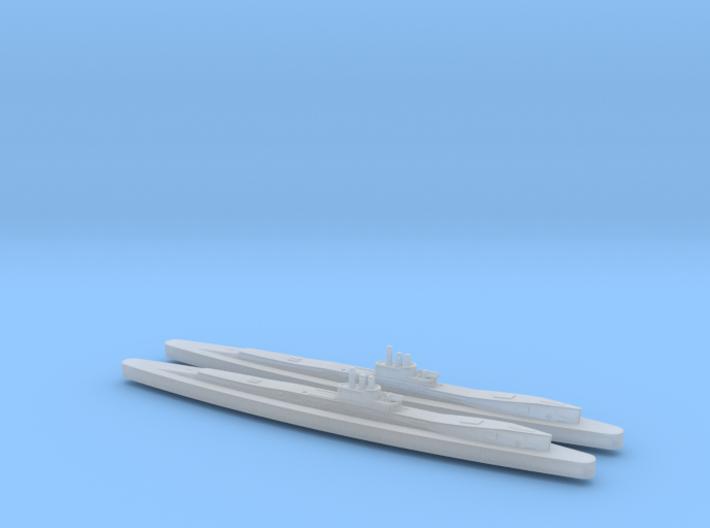 HMS Clyde x2 1/2400 3d printed