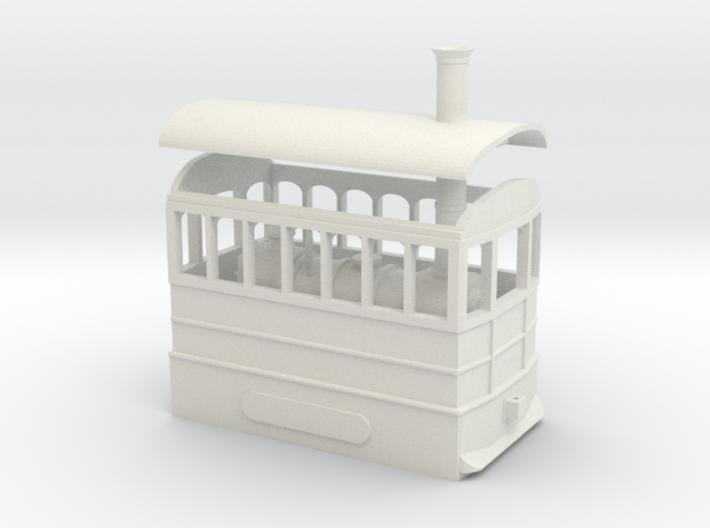 00 Scale Freelance Steam Tram Engine 3d printed