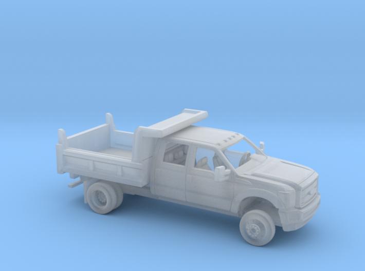 1/87 2011-16 Ford F Series Crew Cab Dump Kit 3d printed