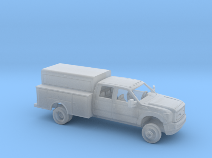 1/87 2011-16 Ford FSeries CrewCab Encl. Utillity 3d printed