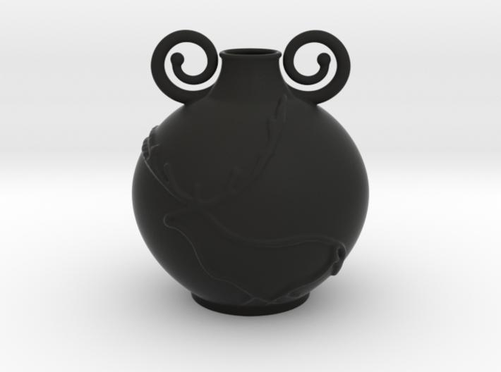 Deer Vase 3d printed