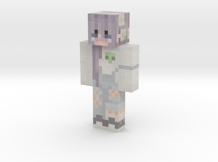 anime_girl | Minecraft toy 3d printed