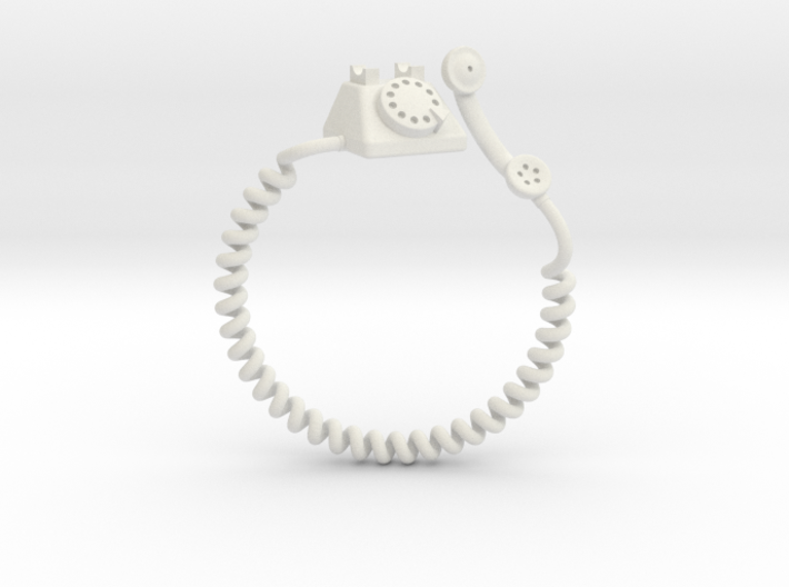 Old Telephon Ring 3d printed